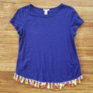 Westbound Petite Small PS Tassel Top